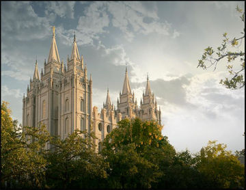 Picture of Salt Lake Early Evening