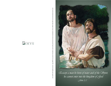 Picture of To Fulfill All Righteousness Program Covers 11 X 8 1/2
