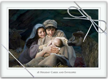 Picture of Silent Night Christmas Cards  5 X 7 18-Pack