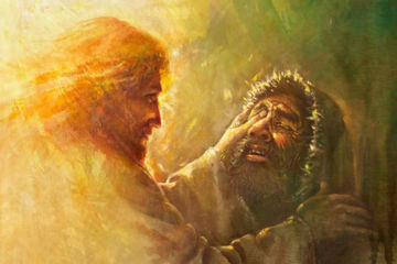 Picture of Healing the Blind Man