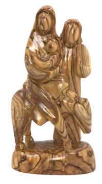 Picture of 1 pc Olive Wood Nativity (Donkey)