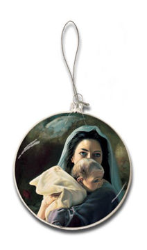 Picture of Be It Unto Me Glass Christmas Ornament